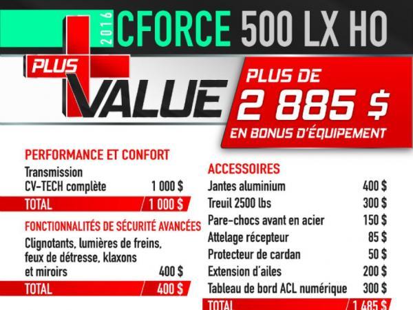 CForce 500 LX HO